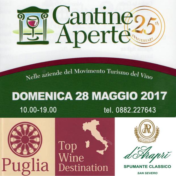 Cantine Aperte 2017: 27 e 28 Maggio